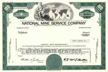 National Mine Service Company