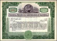 National Securities Corporation of California