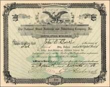 National Street Indicator and Advertising Company, Inc. 1912 - Arizona