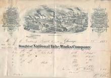 National Tube Works Company BillHead 1888