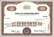 National Valve and Manufacturing Company 1979 ( NAVCO )