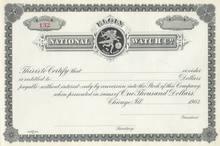 Elgin National Watch Company - 1903