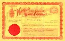 Navajo Consolidated Mining Company 1901 - Cripple Creek Mining District
