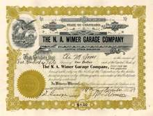 N.A. Wimer Garage Company 1917 - Colorado