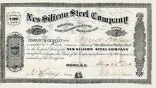 Nes-Silicon Steel Company - Rome, New York 1873