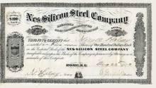 Nes-Silicon Steel Company - Rome, New York 1873
