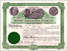 Nevada Exploration Syndicate 1902