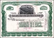 Nevada Treasure Mining Co. 1909