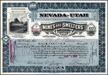 Nevada - Utah Mines and Smelters Corporation