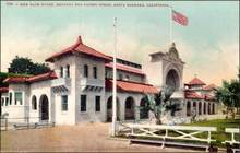 New Bath House, Santa Barbara, California