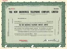 New Brunswick Telephone Company ( Now Aliant Inc ) - Canada
