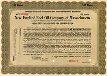 New England Fuel Oil Company of Massachusetts