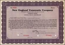 New England Venezuela Company 1936