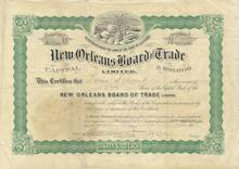 New Orleans Board of Trade - 1903