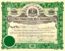 New Orleans Credit Men's Assocation 1932