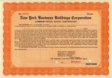 New York Business Buildings Corporation