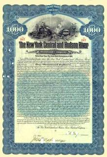 New York Central & Hudson River Railroad Company 1912