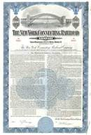 New York Connecting Railroad Company 1945 - Hell Gate Bridge Vignette