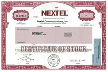 Nextel Communications, Inc. ( NASCAR Cup Series Sponsor)