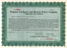 Niagara, Lockport and Ontario Power Company