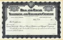 Hilo and Hawaii Telephone and Telegraph Company 1910