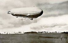 Early Zeppelin LZ 16 Photo Postcard
