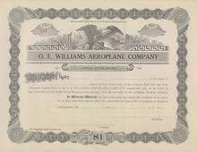 O.E. Williams Aeroplane Company 1914