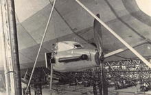 British Airship R38 Engine Photo Postcard