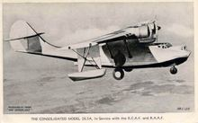 Consolidated Model 28.5A Catalina Photo Postcard