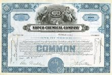 NOPCO Chemical Company 1950's (Diamond Shamrock)