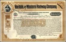 Norfolk and Western Railway Company 1902 - Virginia