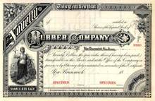 Novelty Rubber Company 1880's - New Brunswick, New Jersey