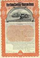 New York Central and Hudson River Railroad Company Gold Bond 1898