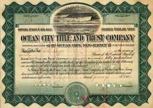 Ocean City Title and Trust Company - Ocean City, New Jersey 1911