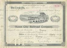 Ocean City Railroad Company 1899 - 1901