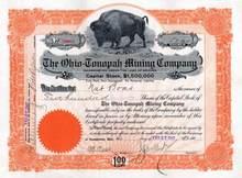 Ohio - Tonopah Mining Company 1907 - Tonopah, Nevada