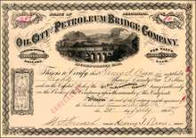 Oil City and Petroleum Bridge Company 1907