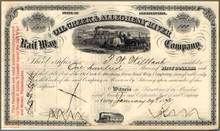 Oil Creek and Allegheny River Railway Company 1874 - 1875