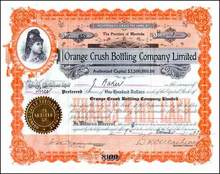 Orange Crush Bottling Company 1923