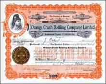 Orange Crush Bottling Company 1923
