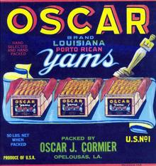 Oscar Crate Label - Acadamy Award Image