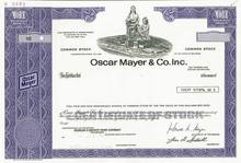 Oscar Mayer & Co 1980