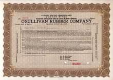 O'Sullivan Rubber Company 1910