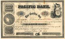 Pacific Bank 1887 - California