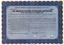 Pan American Eastern Petroleum Corporation