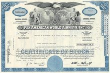 Pan American World Airways: Pan American World Airways circa 1970s - Lot of 100
