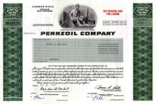 Pennzoil Company ( Pre Quaker State Merger )