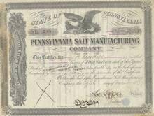 Pennsylvania Salt Manufacturing Company 1877