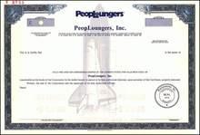 PeopLoungers, Inc. 1985 - Challenger Spce Shuttle Underprint