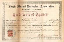 Peoria Mutual Benevolent Association 1868